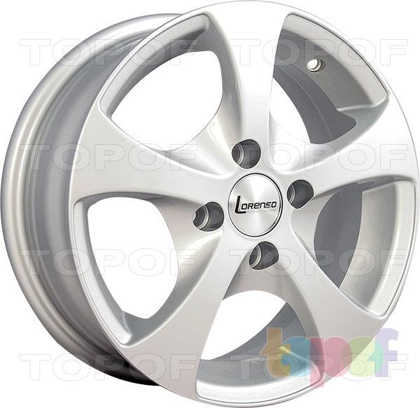 Колесные диски Lorenso 1742. Изображение модели #1