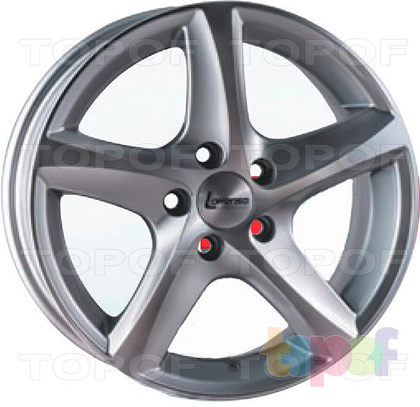 Колесные диски Lorenso 1743. Изображение модели #1
