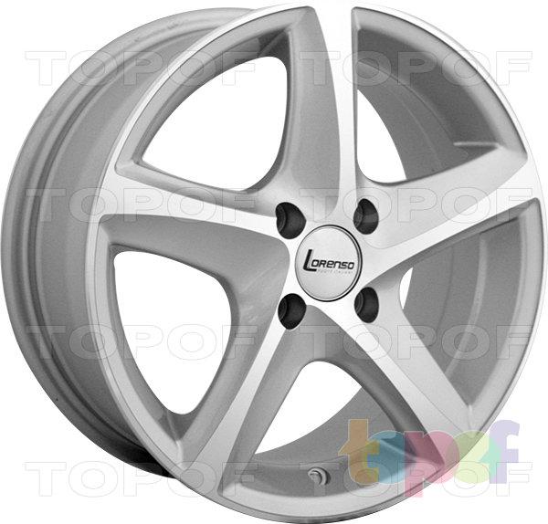 Колесные диски Lorenso 1743. Изображение модели #2