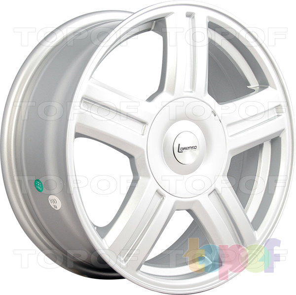 Колесные диски Lorenso 1900. Изображение модели #1