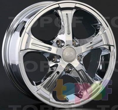 Колесные диски LS wheels AT522. Изображение модели #1