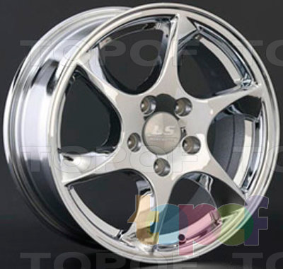 Колесные диски LS wheels AT636. Изображение модели #1