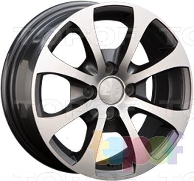 Колесные диски LS wheels BY503. Изображение модели #1