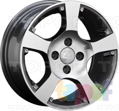 Колесные диски LS wheels BY505. Изображение модели #1