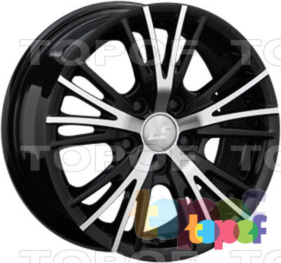 Колесные диски LS wheels BY701