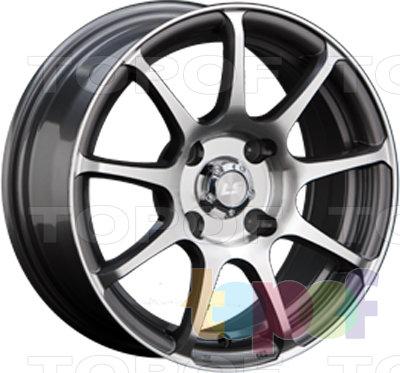 Колесные диски LS wheels BY802. Изображение модели #1
