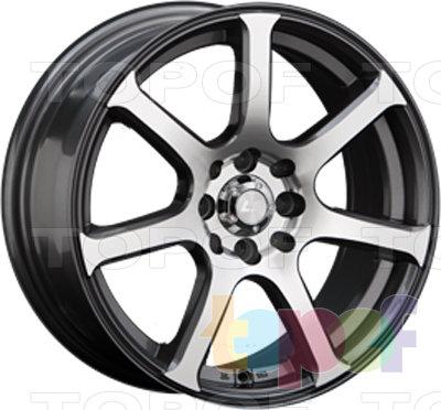 Колесные диски LS wheels BY804. Изображение модели #1