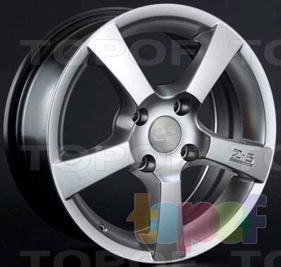 Колесные диски LS wheels K342. Изображение модели #1