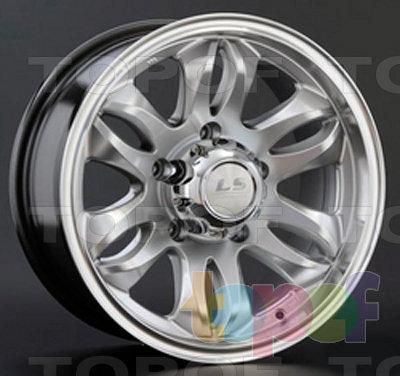 Колесные диски LS wheels K366. Изображение модели #1