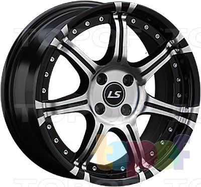 Колесные диски LS wheels LS102. Изображение модели #1