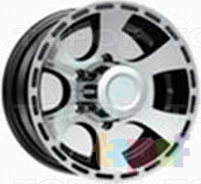 Колесные диски LS wheels LS156. Изображение модели #1