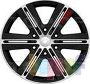 Колесные диски LS wheels LS208. Изображение модели #1