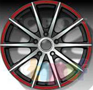 Колесные диски LS wheels LS221. Изображение модели #1