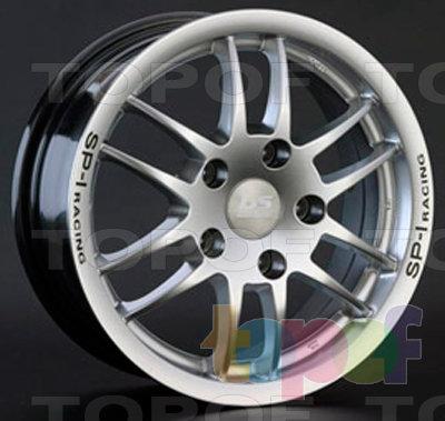 Колесные диски LS wheels T040. Изображение модели #1