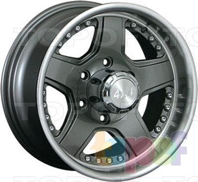 Колесные диски LS wheels TS520. Изображение модели #1