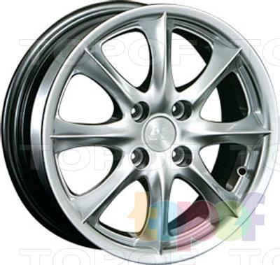 Колесные диски LS wheels ZT393. Изображение модели #1