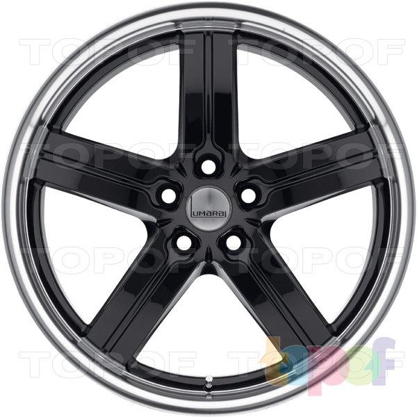 Колесные диски Lumarai Morro. Цвет черный