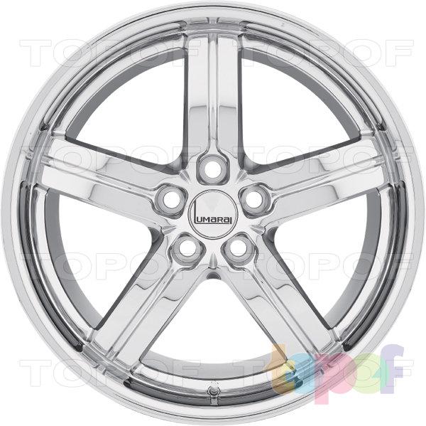 Колесные диски Lumarai Morro. Хромированное покрытие