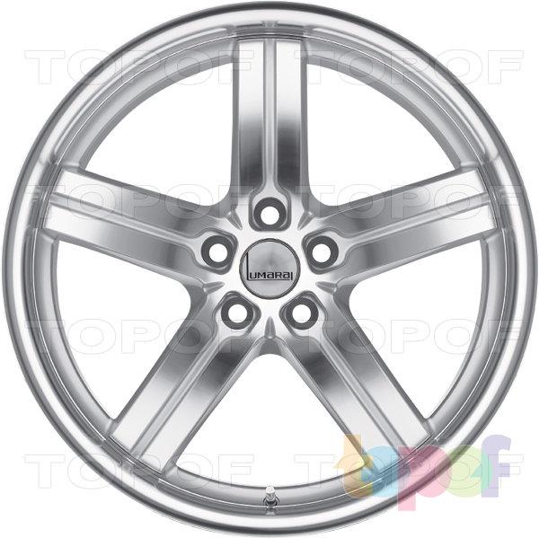 Колесные диски Lumarai Morro. Цвет серебряный