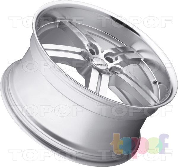 Колесные диски Lumarai Morro. Цвет серебрянный