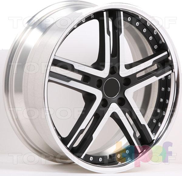 Колесные диски M&K Forged Wheels MK-LVI. Изображение модели #2