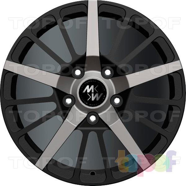 Колесные диски M&K Forged Wheels MK-XLIII. Изображение модели #1