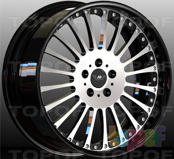 Колесные диски M&K Forged Wheels MK-XXXVIII. Изображение модели #1