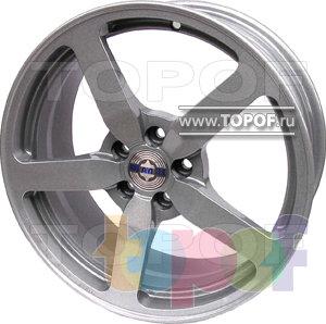 Колесные диски МагАлТек Д1 Evo. Изображение модели #1