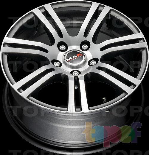 Колесные диски Mak Audace Mirror. Изображение модели #4