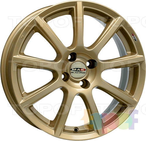 Колесные диски Mak Cruiser Racing. Изображение модели #1