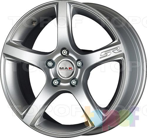 Колесные диски Mak Fever 5R. Цвет черный