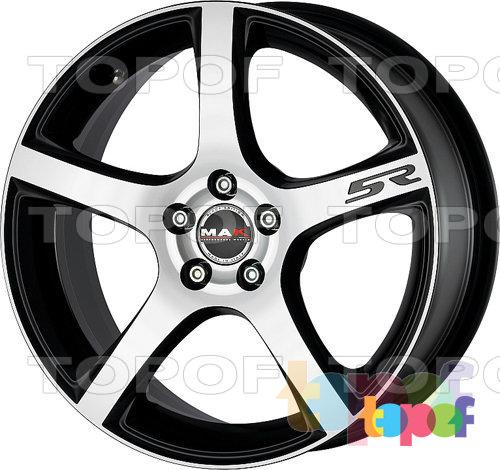 Колесные диски Mak Fever 5R. Серебряный