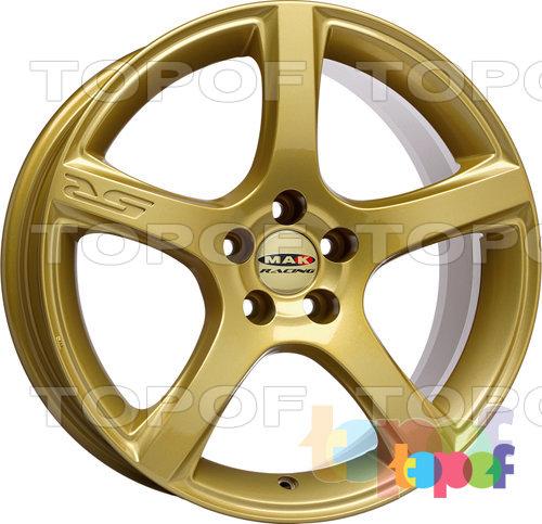 Колесные диски Mak Fever 5R. Цвет белый