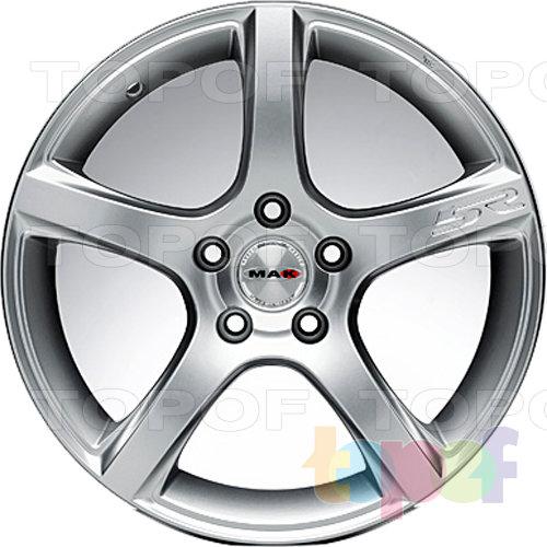 Колесные диски Mak Fever 5R. Цвет золотой
