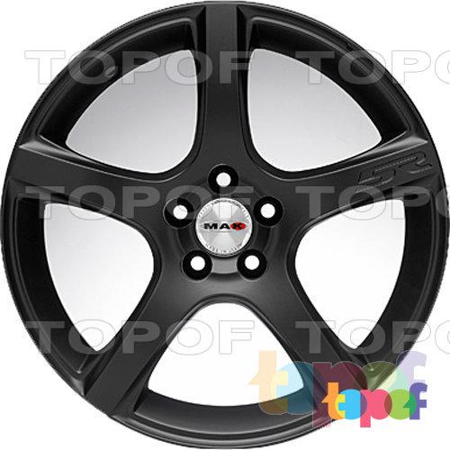 Колесные диски Mak Fever 5R. Black mirror