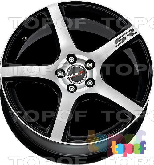 Колесные диски Mak Fever 5R. Черный