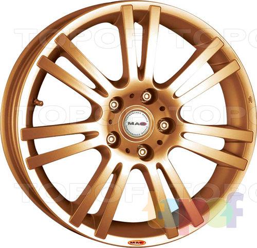 Колесные диски Mak Fiorano. Цвет золотой