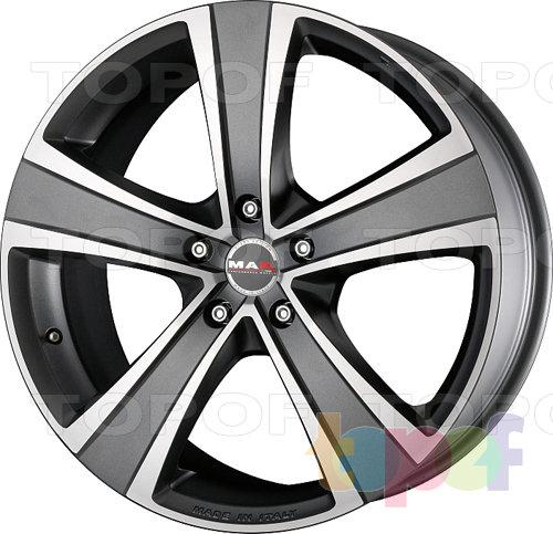 Колесные диски Mak Fuoco 5. Цвет Hyper Silver