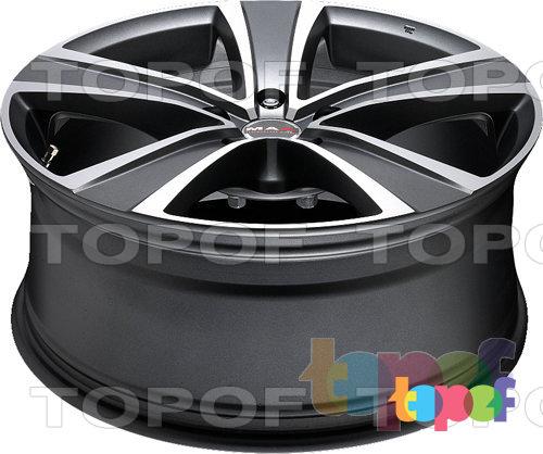 Колесные диски Mak Fuoco 5. Цвет серебряный