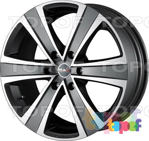 Колесные диски Mak Fuoco 6. Цвет серебряный