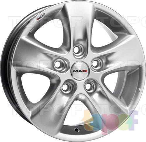 Колесные диски Mak HD!. Изображение модели #1
