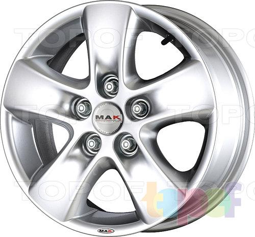 Колесные диски Mak HD!. Изображение модели #2