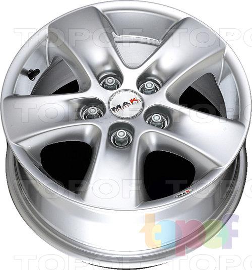 Колесные диски Mak HD!. Изображение модели #5