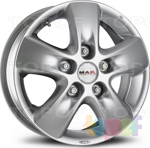 Колесные диски Mak HD!2. Изображение модели #1