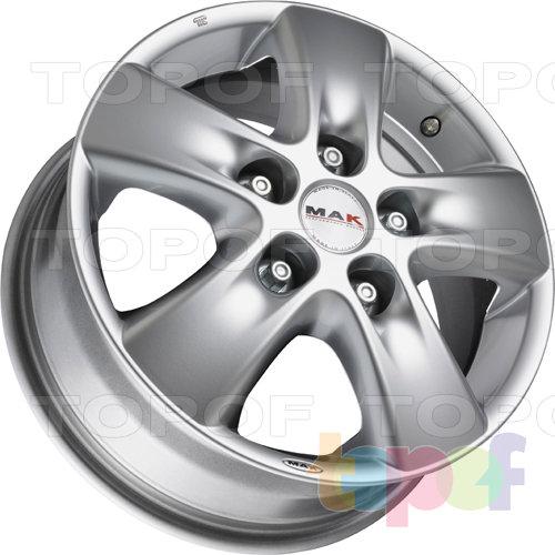 Колесные диски Mak HD!2. Изображение модели #2