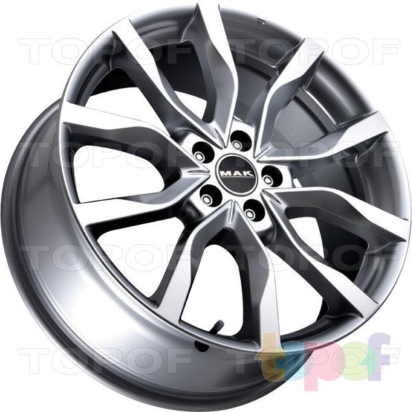 Колесные диски Mak Highlands. Цвет Gun Metallic Mirror