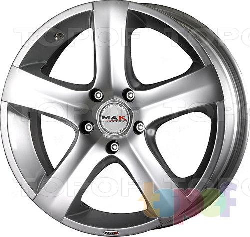 Колесные диски Mak Hornet. Изображение модели #1
