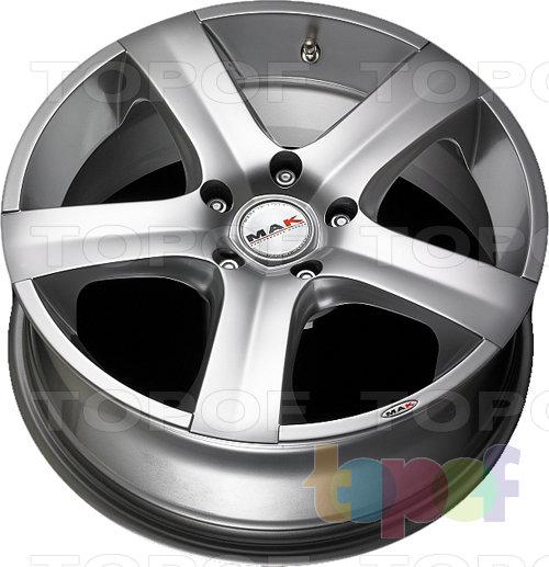 Колесные диски Mak Hornet. Изображение модели #4