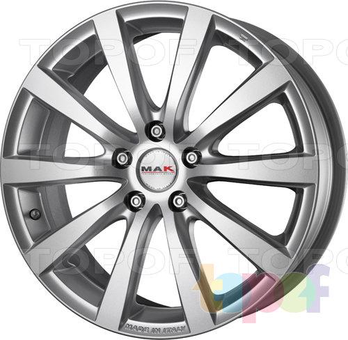 Колесные диски Mak Iguan. Цвет graphite mirror