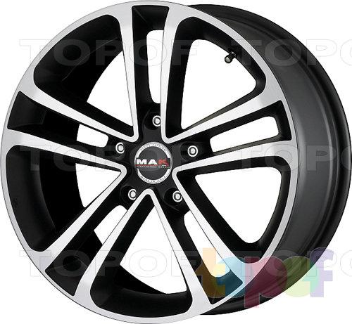 Колесные диски Mak Invidia. Цвет White mirror